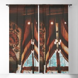 Timber Cabin in Oregon Blackout Curtain
