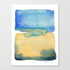 Color Field No. 2 Canvas Print
