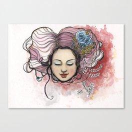 """""""Bella II"""" Canvas Print"""