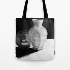 Vase with Sphere Tote Bag