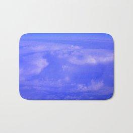 Aerial Blue Hues IV Bath Mat