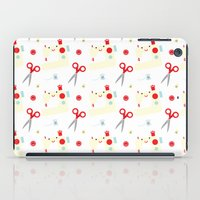 sewing iPad Cases featuring Sewing fun by Samantha Eynon
