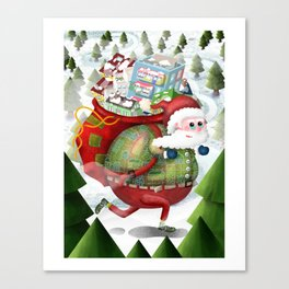 Christmas holiday Canvas Print