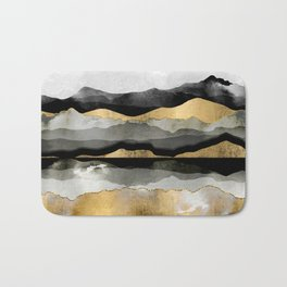 Golden Spring Moon Bath Mat