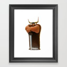 Viking Framed Art Print