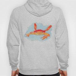 Orange Swimmer Crab Hoody