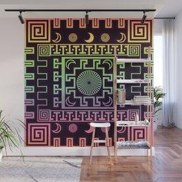 Midnight - Rainbow Variant Wall Mural