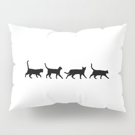 Kitty Conga Line Pillow Sham