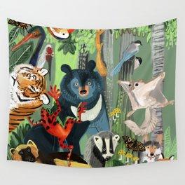 Ussuriland  Dersu´s dream Wall Tapestry