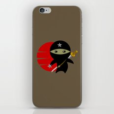 Ninja Star - Dark version iPhone & iPod Skin