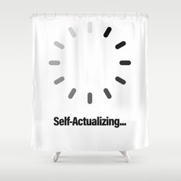 Self-Actualizing Shower Curtain