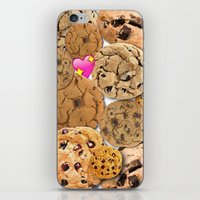 cookies iPhone & iPod Skins featuring Cookies by jajoão