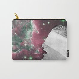 People of the Universe-Nebula Blindfold-Pink Carry-All Pouch
