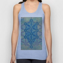 Flower of life Unisex Tank Top