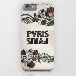 PVRIS ALL WE KNOW OF HEAVEN TOUR DATES 2019 TULIP iPhone Case
