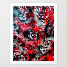 Fyre Art Print