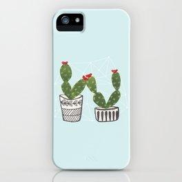 Cacti Love iPhone Case