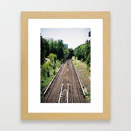 Julius Leber Brücke  Framed Art Print