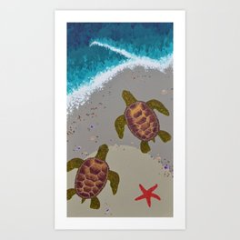 The Tide Art Print