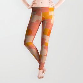 Retro Tiles 03 #society6 #pattern Leggings