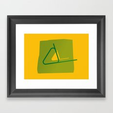 At The Races Framed Art Print