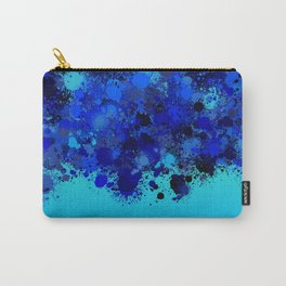 paint splatter on gradient pattern bl Carry-All Pouch