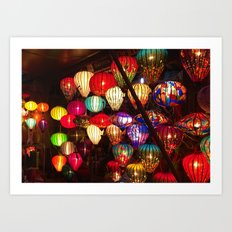 To be a lantern in the dark. Art Print