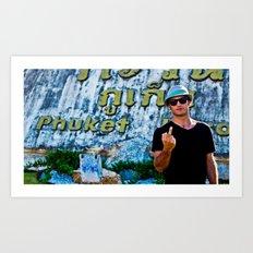 Phuket Thailand Art Print