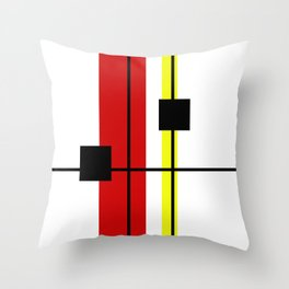 Geometrical design Throw Pillow