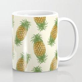 Genetically Engineered Pineapple Pattern Coffee Mug
