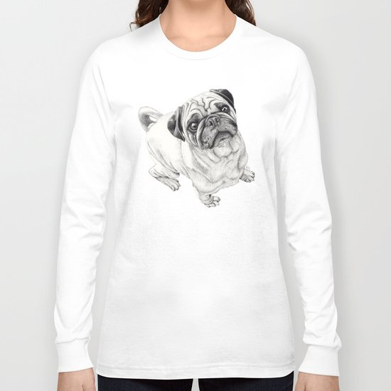 Seymour the Pug Long Sleeve T-shirt