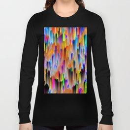 Colorful digital art splashing G393 Long Sleeve T-shirt