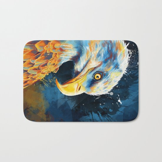 Eagle Eye Bath Mat
