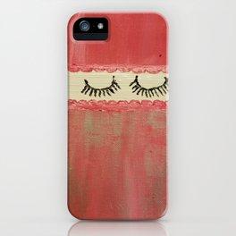Eyelashes for Faith Isabella iPhone Case