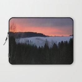February Morning Sunrise Laptop Sleeve