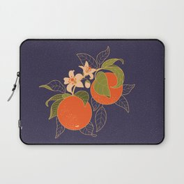 Orange Branch Laptop Sleeve