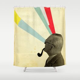 Mind-altering Shower Curtain
