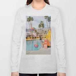 Palm Springs Pool Day IV Long Sleeve T-shirt