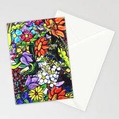 Trouble in paradise 1 Stationery Cards