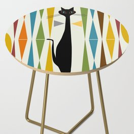 Mid-Century Modern Art Cat 2 Side Table