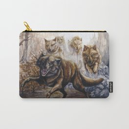 Pack of Wolves Carry-All Pouch
