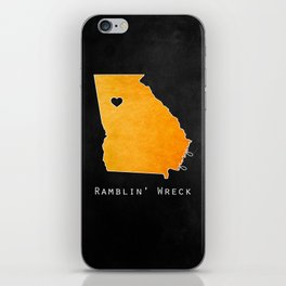 Ramblin' Wreck iPhone Skin