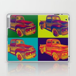 Colorful 1951 Ford F-1 Pickup Truck Pop Art  Laptop & iPad Skin