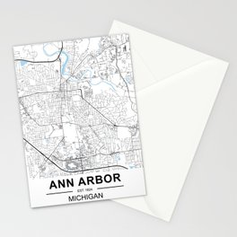 ANN ARBOR, MICHIGAN Stationery Cards