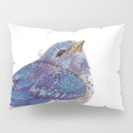 Blue Bird Pillow Sham