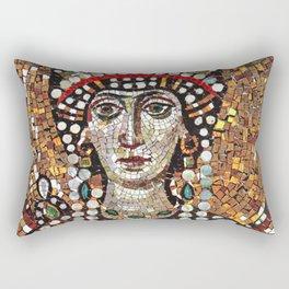 Byzantine Empress Saint Theodora of the Roman Empire Rectangular Pillow