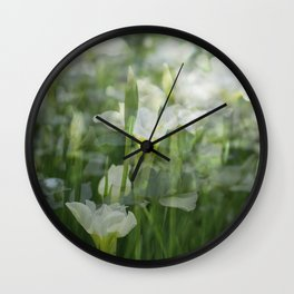 Mountain Jonquils Wall Clock