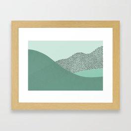 Mint Slice: Cookie Crew Framed Art Print
