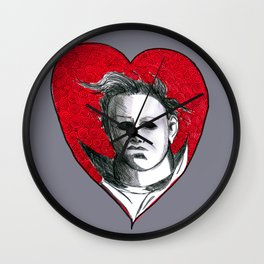 Micheal Myers (All Heart) Wall Clock