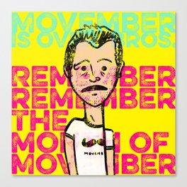 Don Movember Canvas Print